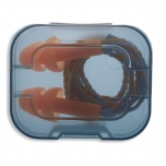 UVEX Ear plugs, reusable, Whisper corded with a storage box. SNR: 23dB
