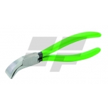 Lankstymo replės (45° kampas) plotis 22mm, darbinis gylis 28mm, nerūdijančio plieno, PVC dengtos rankenos