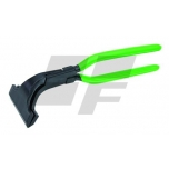 Seaming pliers, bent of 45°, lap joint, 100 mm