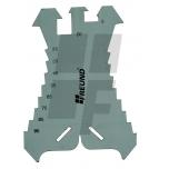 Žymėjimo plokštelė/rėžtukas 01132000, 5-100mm (žingsnis 5mm)