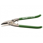 Punch snips, cut right, 275 mm, HRC 56, green