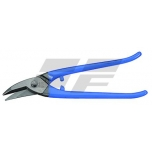 Punch snips, cut right, 250 mm, HRC 59, blue