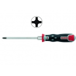Screwdriver Tekno+ PH2 125mm with through blade