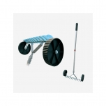 Interchangeable-thatch rake+handle SALES
