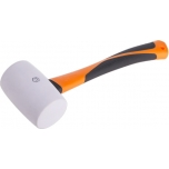 Rubber mallet with fiberglass handle 450g