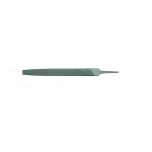 "Flat tapered file 6"" 150mm smooth cut with handle"