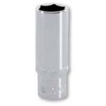 "Deep hexagon socket 10mm 1/4"" Irimo blister"