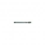 HSS DIN Machine Tap M3, spiral flute 35°. Bright, uncoated. T Line