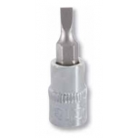 "Slotted bit socket 1,2x8,0mm 1/4"" Irimo blister"