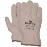 "Leather/splitleather  ""driver"" gloves, size 8/M"