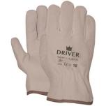 "Leather/splitleather  ""driver"" gloves, size 9/L"