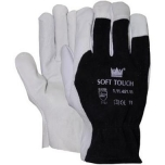 Goat leather Tropic gloves with cotton upper, size 8/M