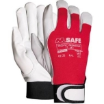 Goat leather gloves M-Safe Tropic Premium, size 9, Velcro