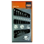 Combination wrench 111M set 8-22mm 10 pcs