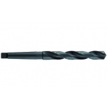 Metal drill bit Ø21,5 mm, HSS, fully ground, Morse taper shank CM2, point angle 118⁰, steam treated