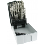 Metal drills set G RECTIF HSS 25pcs Ø1-13 mm