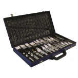 Metal drills set in metal case RECTIF HSS 222pcs Ø1-13mm