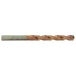 FURIUS, Ti2N FUSIO, HSS Fully Ground Jobber Length Drill Ø10,2 mm. Split point angle 135°