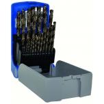 Metal drills set G TC HSCOB 25pcs Ø1-13mm
