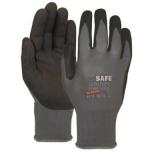 Nylon gloves with nitrile foam coating M-Safe Nitri-Tech Foam 14-690, size 6/XS