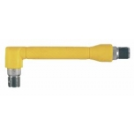 Angled screwdriver bit handle 1/4""