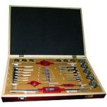 Набор резьбонарезного инструмента Tivoly MTF37 для внутренних и внешних резьб М3-20