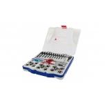 Набор резьбонарезного инструмента Tivoly MTF29 для внутренных и внешних резьб М3-M12 + MF8-MF12