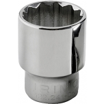 "Double hexagon socket 10mm 1/2"" Irimo blister"