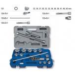"Hexagon sockets set 22-50mm 17 pcs 3/4"" Irimo"