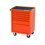 Tool trolley on wheels 1470K with 7 drawers and 145 tools 677x501x950mm