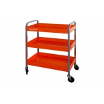 Roll cart with three trays 759x432x1025mm