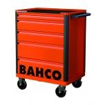 Įrankių vežimėlis Bahco E72, 6 stalčiai, 693x510x955mm, juodas