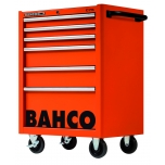 6 draw.pro tool trolley orange