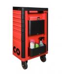 Aerozolių ar butelių laikiklis Bahco, tvirtinamas vežimėlio šone, tinkamas E77 ir E72 įrankių vežimėliams