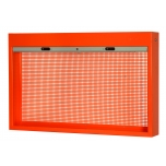 Cabinet with shutter for toolas 1800x170x900mm orange