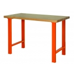 Workbench with wooden top 1500x750x1030mm