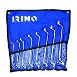 Kahepoolsete silmusvõtmete kmpl 8 osa 6-22mm kotis Irimo