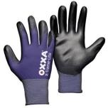 Nailoninės pirštinės, padengtos poliuretanu OXXA X-Treme-Lite 51-100, ypač plonos ir komfortiškos, dydis 11/XXL