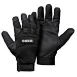 Apsauginės pirštinės, mechaniko stiliaus OXXA X-Mech 51-600, sintetinė oda, velcro užsegimas, dydis 9/L