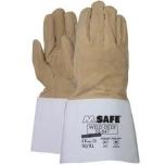 Keevitajakindad kitsenahast M-Safe Weld-Deer 53-847, suurus 10/XL