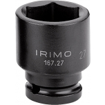"""Kuuskant löökpadrunite kmpl 9 osa 1/2"""" 10-24mm siinil Irimo"""
