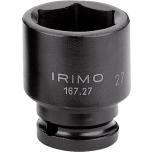 """Kuuskant löökpadrunite kmpl 5 osa 1/2"""" 17-27mm siinil Irimo"""