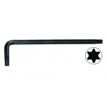 Black offset keys for Torx® screws T7