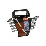 Ratchet combination spanners 1RM set 8-19mm 8 pcs