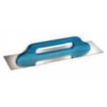 SMOOTHING TROWEL SWISS TYPE 480x130x0,7, serrated 8x8