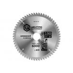 Пильный диск, подходит для реза алюминиевых профилей, 216х30/20мм, 60зуб