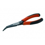 Snipe nose pliers Ergo with 60° bent tip 200mm