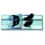 Plasterboard chamfering plane with adjustable angle 22-45°, adjustable depth