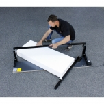 SIMPLIFIED HOT WIRE CUTTING TABLE - For styrofoam panel, especially for E.T.I.C.S. applications