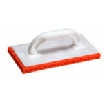 PLASTIC FLOAT with 20 mm rubber sponge, red